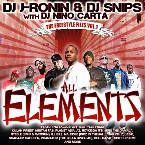 DJ J-Ronin, DJ Snips, DJ Nino Carta, Mistah Fab - J-Ronin Freestyle (feat. Mistah Fab)  (2009)