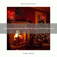 Ocean Waves For Sleep - Rest Under a Mistletoe with Peaceful Sea Music and Christmas Classics