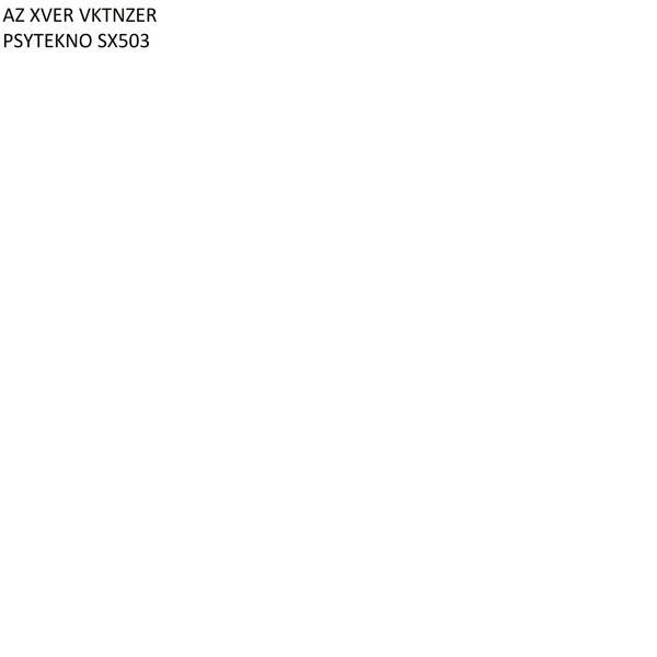 Альбом: PSYTEKNO SX503